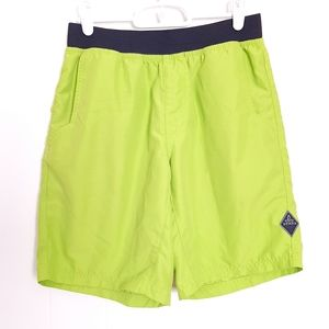Prana UPF 50+ quick dry bright green Mojo shorts
